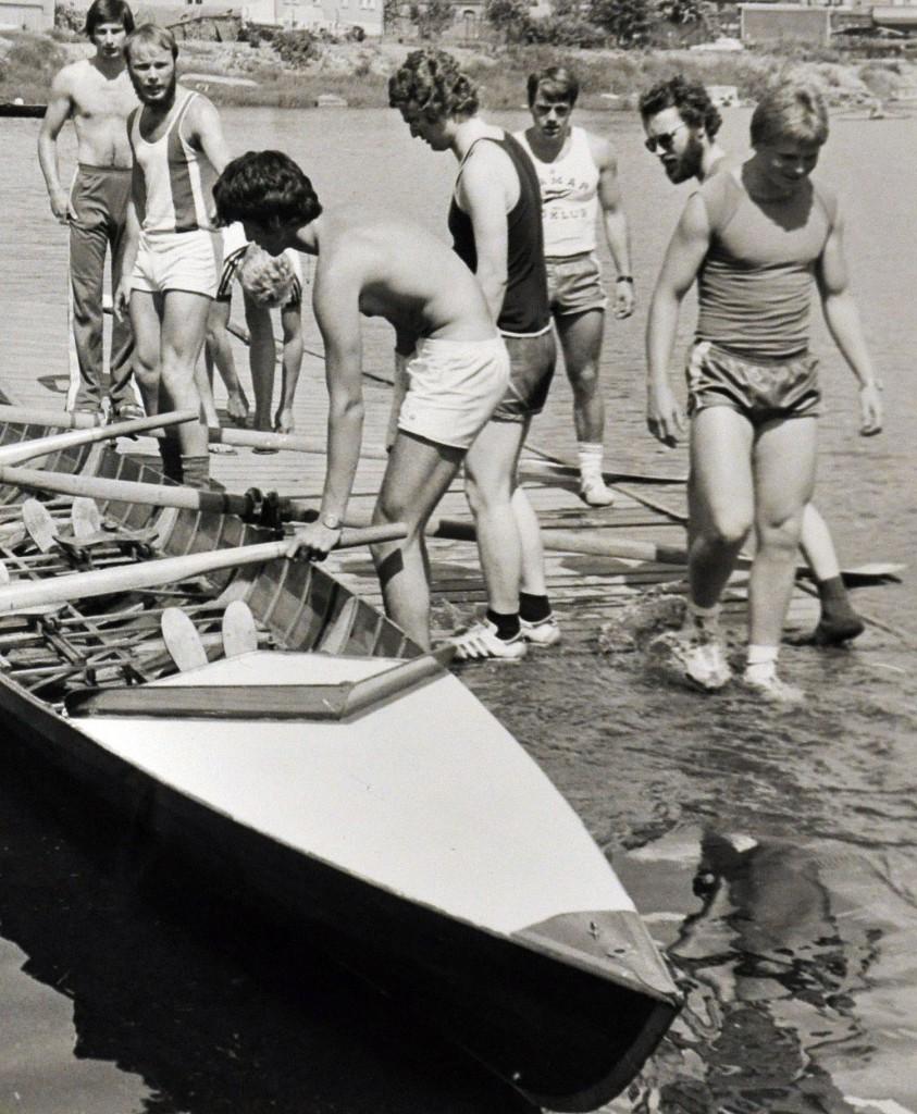 Hamar Roklub Roåpningen 08-06-1980 med Moelv Roklubb
