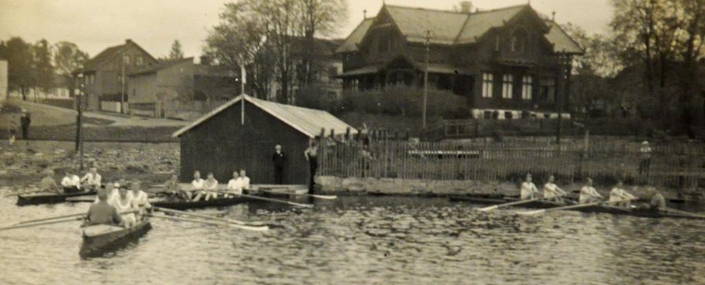 Hamar Roklub Roåpningen Koigen 1931
