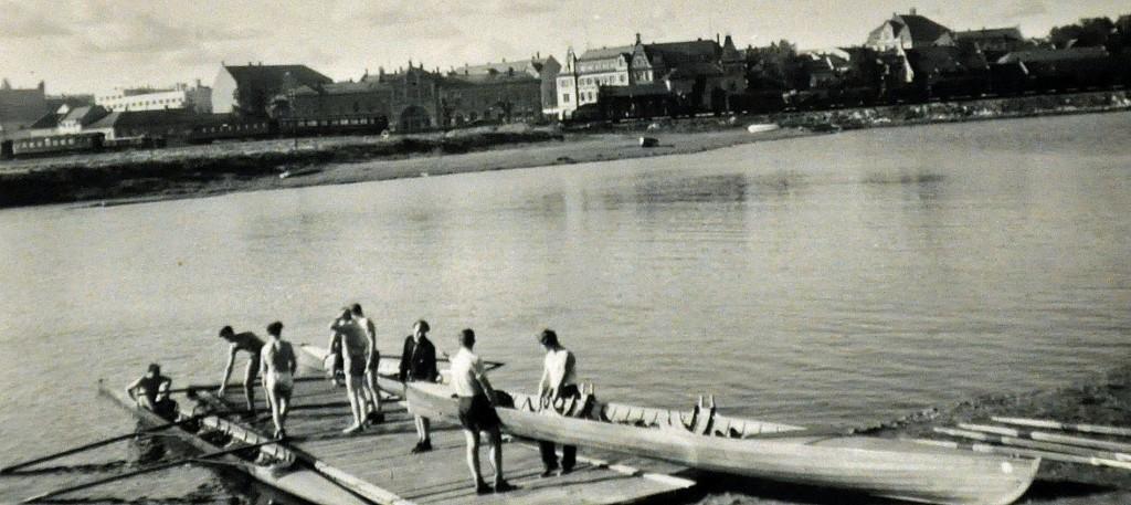 Hamar Roklub Vesle-Mjøsa-bryggaktivitet 1946