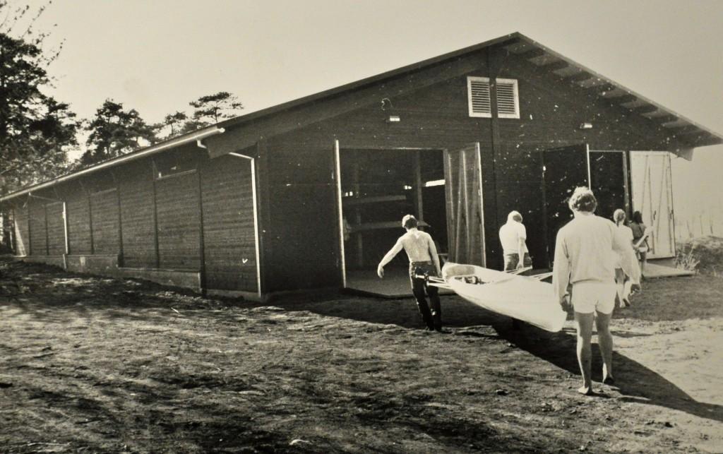 Hamar Roklub nytt båthus i bruk i mai 1982