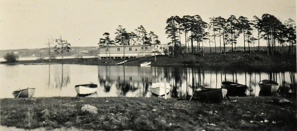 Hamar Roklub og Vesle-Mjøsa-åthuset 1939
